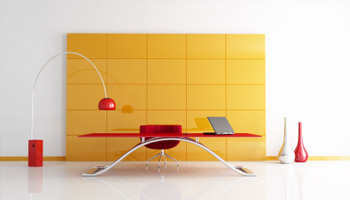 Meuble de bureau contemporain mobilier for Meuble bureau contemporain